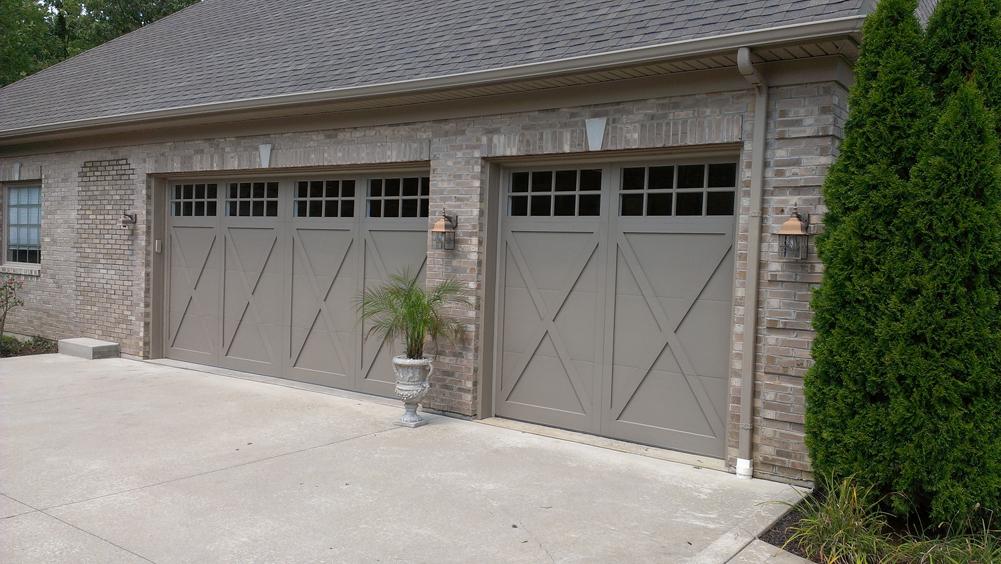 Overlay Steel Carriage House Door In Cincinnati Pdq