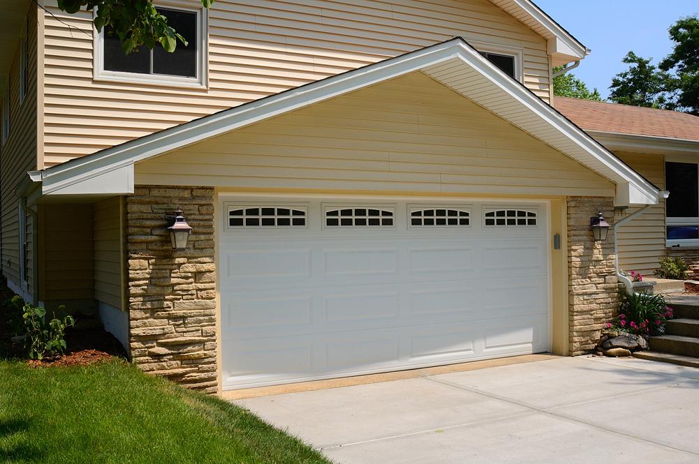 Amazing Long Panel Steel Garage Door