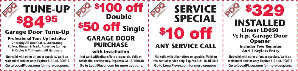 Specials  sc 1 st  PDQ Garage Doors & PDQ Doors