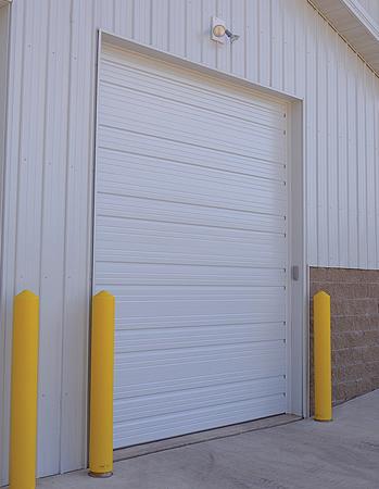 Ribbed Steel Commercial Garage Door In Cincinnati Pdq 513 737