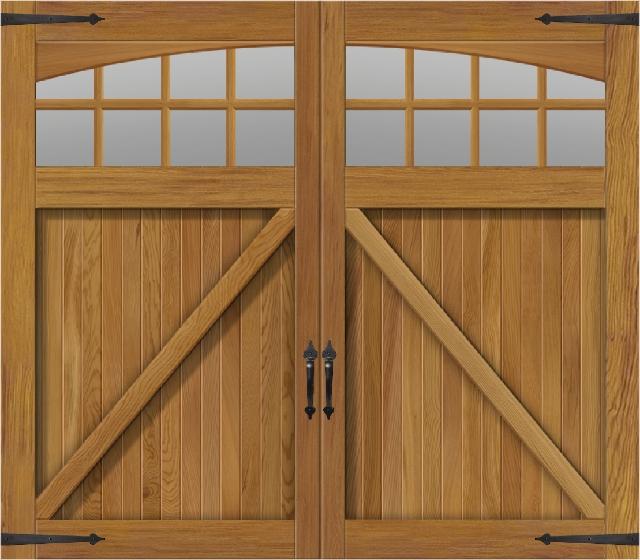 Exceptionnel Overlay Cedar Carriage House Door